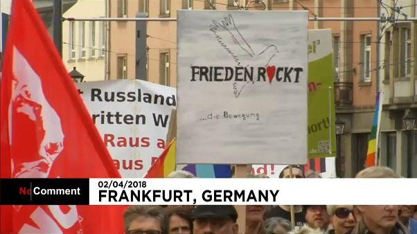 Марш мира во Франкфурте