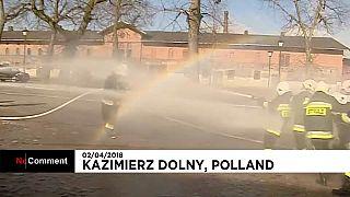 Мокрый понедельник в Польше