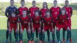 Seleção portuguesa de sub-16 com Fábio Silva como capitão
