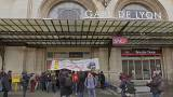 French rail commuters brace for three-month strike
