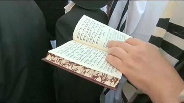 Προσευχή στο Τείχος των Δακρύων για χιλιάδες εβραίους