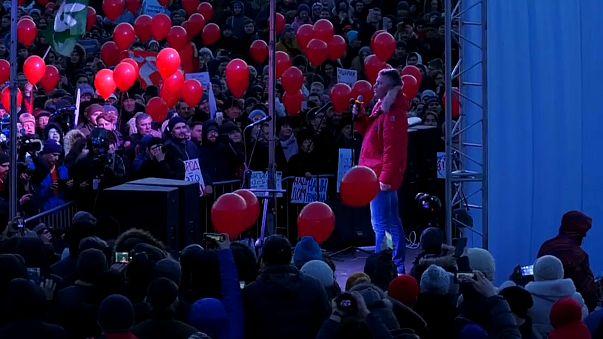 Митинг за прямые выборы главы Екатеринбурга
