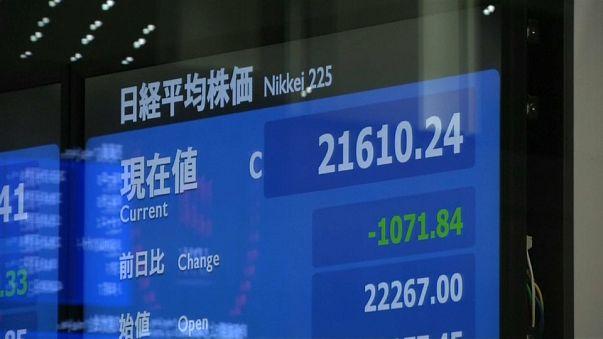 Asya piyasaları hareketlendi Japon Yeni değer kazandı