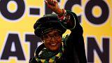 Nelson Mandela'nın eski eşi Winnie Mandela hayatını kaybetti