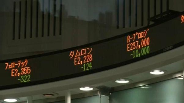 Gyengülnek az ázsiai piacok