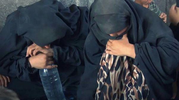 بازداشت خانوادههای پیکارجویان داعش