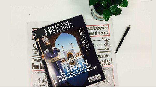 ویژهنامه تاریخی فیگارو با پروندهای درباره تاریخ ایران منتشر شد