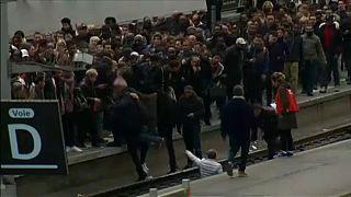 Káoszt teremtett a vasutas sztrájk Franciaországban