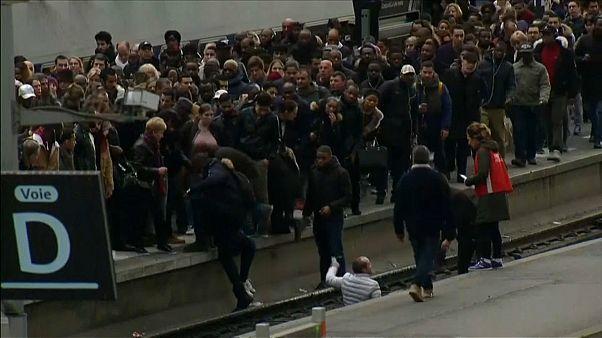 Eisenbahner-Streik: Chaos in Frankreich