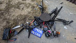 پهپاد باربری روسیه لحظاتی بعد از پرواز سقوط کرد