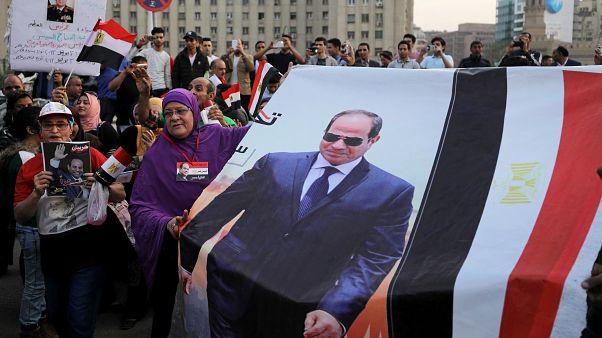 إنفوغرافيك: مقارنة بين نسب الانتخابات المصرية لعامي 2014 و2018