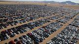Le foto del cimitero di auto Volkswagen negli Stati Uniti