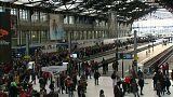 Huelga de trenes en Francia