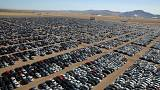 Volkswagen 'graveyard' packs thousands of diesel cars