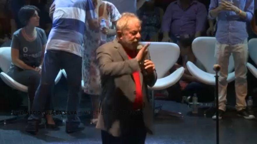 Az elítélt Lula da Silva ismét elnök akar lenni