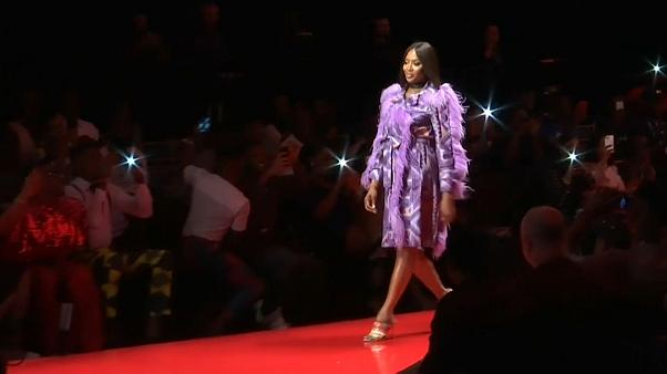 Naomi Campbell auf der ARISE Fashion Week in Lagos