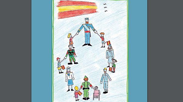 Spagna, lezioni sull'esercito ai bambini delle scuole elementari