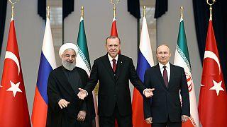چالش روسیه، ایران و ترکیه برای رسیدن به توافق در بحران سوریه