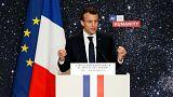 انتقاد از ماکرون به خاطر استفاده از «فرانگلیسی»