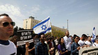 Protestos contra Netanyahu em Jerusalém e Telavive
