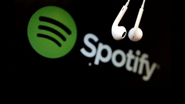 Spotify fait ses premiers pas en bourse