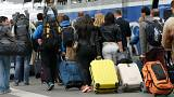 Caos nas estações de comboios francesas