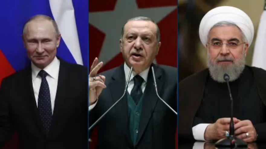 Putin, Erdogan e Rohani