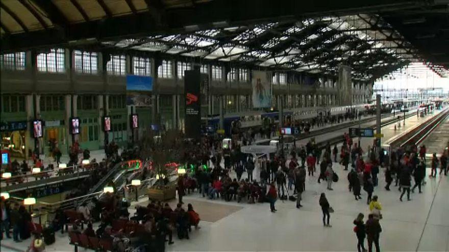 Gare de Lyon in Paris on Tuesday morning