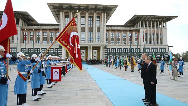 Российско-турецкий саммит в Анкаре