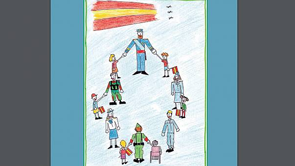 Bientôt un enseignement militaire pour les petits Espagnols