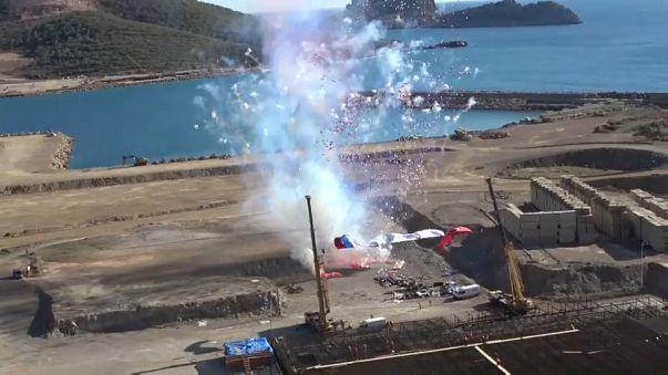 Baubeginn des Akkuyu-Atomkraftwerks in Mersin