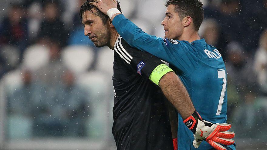 Champions League: troppo Ronaldo per la Juve, il Real Madrid vince 3-0