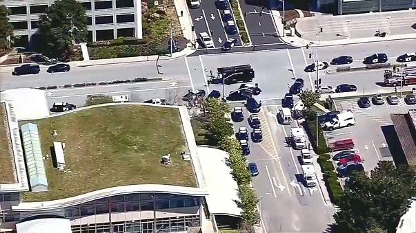 YouTube genel merkezinde silahlı saldırı