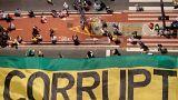 Brezilya halkı eski Devlet Başkanı Da Silva'yı protesto etti
