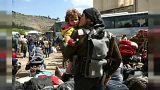 La vita d'inferno dei rifugiati di Ghouta est