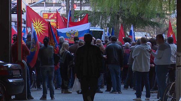 Македонцы против высылки