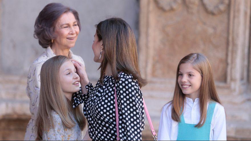 دعوای ملکه اسپانیا با مادرشوهر