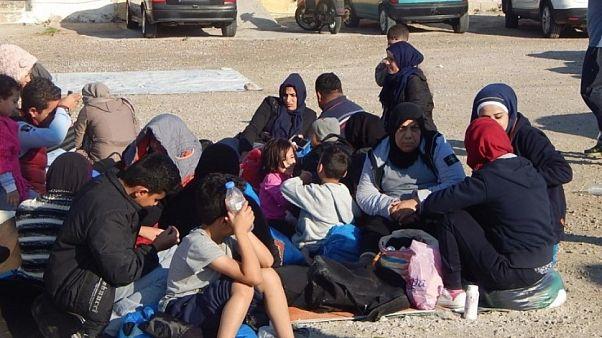 Ξαφνική άφιξη 216 μεταναστών στη Χίο σε μια ημέρα