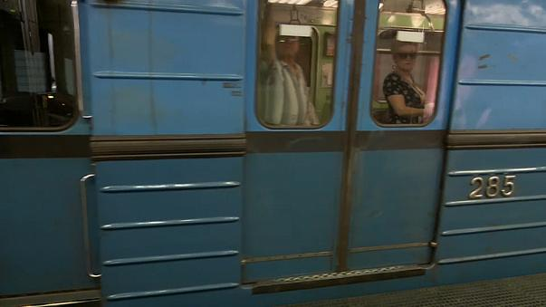 Renovierung auf Russisch - Budapests U-Bahn