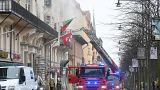 Fogo no edifício das embaixadas de Portugal, Tunísia, Argentina e Bélgica