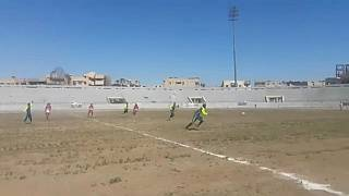 First football tournament played in Raqqa since ISIL insurgency