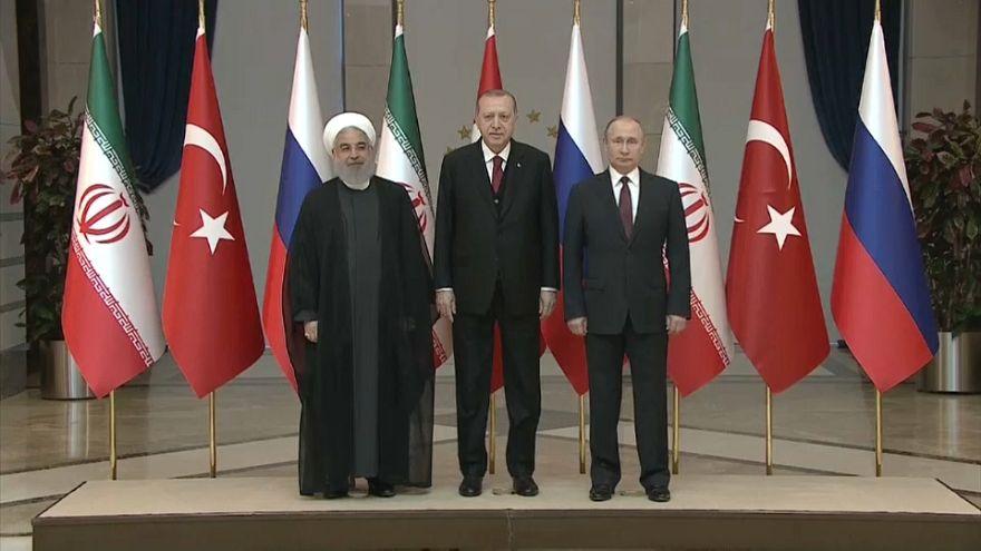 Саммит Россия-Иран-Турция