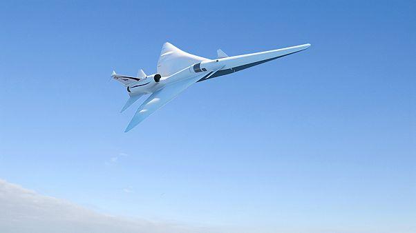 NASA'dan sesten daha hızlı uçak projesi