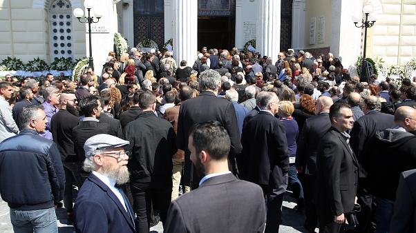 Κηδεία Στέλιου Σκλαβενίτη: Ήταν όλοι εκεί