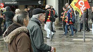 Millones de afectados por la huelga de trenes en Francia