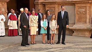 Una idílica foto de la familia real rota en pedazos