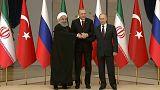 Cumbre trilateral para poner fin a la guerra civil en Siria