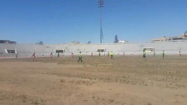 Fußballturnier in Rakka