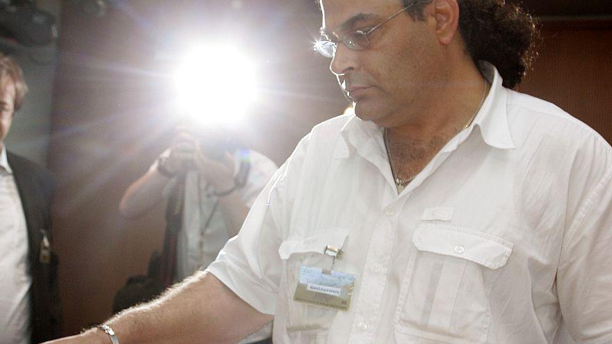 Khaled EL-Masri at a court hearing in Berlin, June 22, 2006
