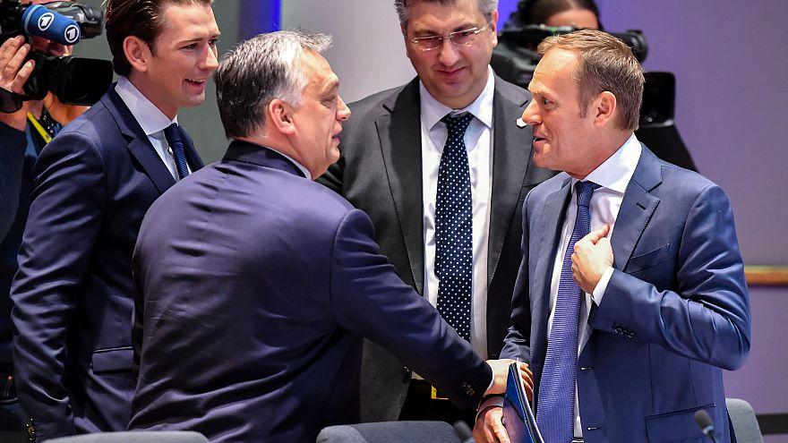 Viktor Orban e Donald Tusk